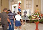 Sentido tributo de recordación en Villa Clara al Comandante de la Revolución Juan Almeida