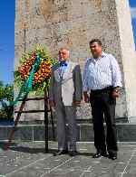 Presidente de Croacia rindió homenaje al Che en Santa Clara