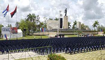 Presidirá Raúl Castro, acto por el 26 en la Plaza Che Guevara