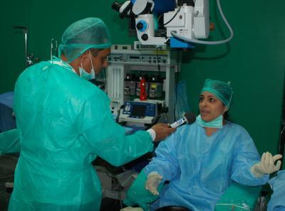 Entrevista con joven doctora cubana destacada en la Misión Milagro en Venezuela